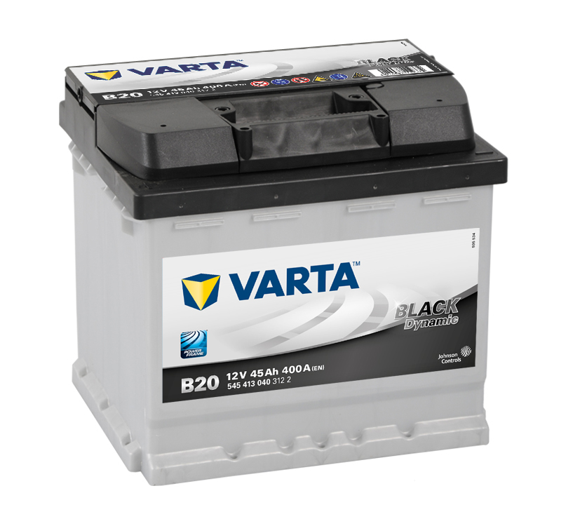 VARTA Black Dynamic 45 п.п. B20 (545 413 040)