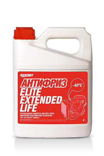 RW4064 Антифриз Elite Extended Life (red) 4л